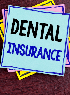 dental insurance sign